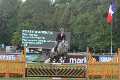Grande semaine de Fontainebleau : Excellente performance de FORTY  D'AGENAIS